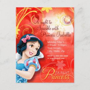 snow white birthday invitations zazzle