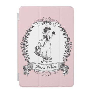 Snow White | Holding Apple - Elegant Sketch iPad Mini Cover