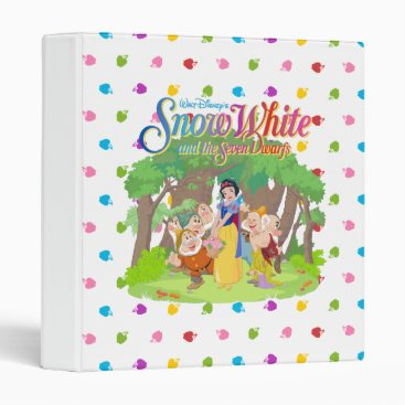 Snow White & the Seven Dwarfs | Wishes Come True 3 Ring Binder