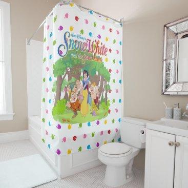 Snow White & the Seven Dwarfs | Wishes Come True Shower Curtain