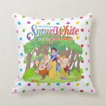 Snow White & the Seven Dwarfs | Wishes Come True Throw Pillow