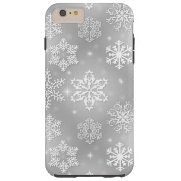 Snowflake iPhone 6 Plus Tough case