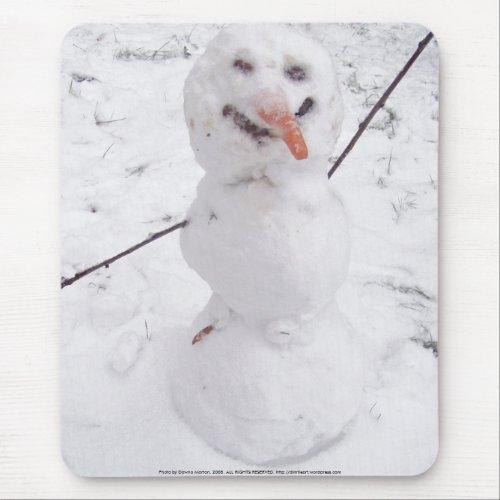 snowman pizazz! mousepad