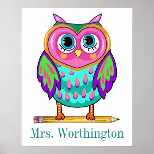 So Cute Teacher Poster