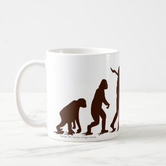 Sock Monkey Evolution Oh Yaaaah! Coffee Mugs
