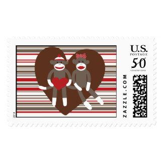 Monkey Valentines Day Cards Greeting Amp Photo Cards Zazzle