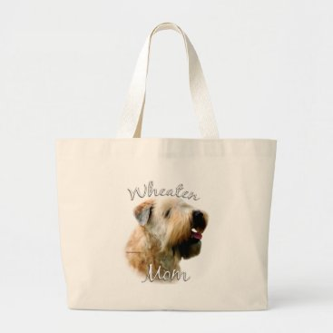Soft Coated Wheaten Terrier Mom 2 Large Tote Bag