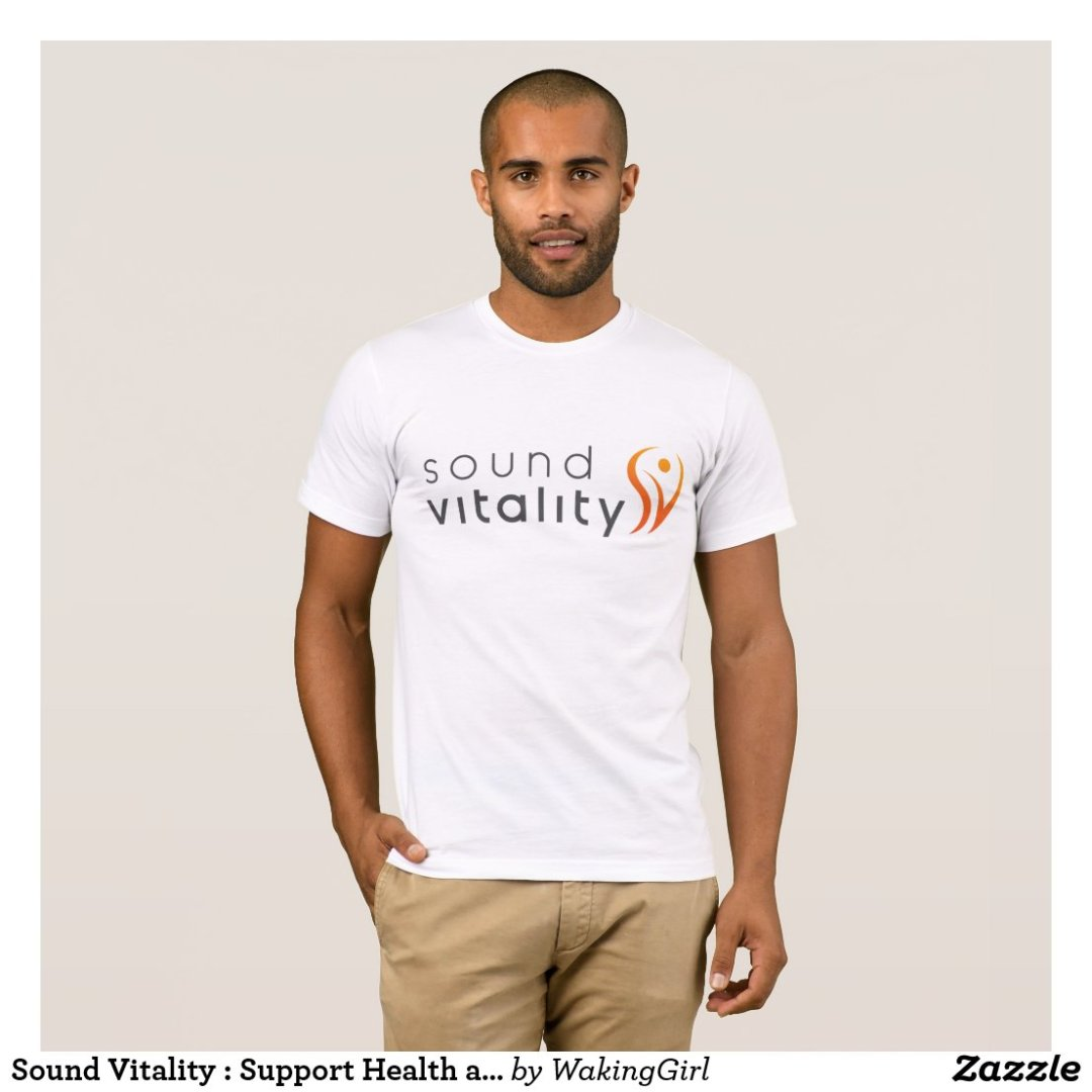 Sound Vitality : Support Health and Small Business T-Shirt