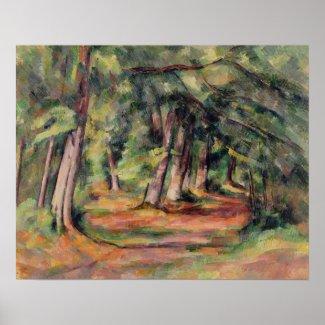 Sous-bois 1890-94 print