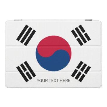 South Korean flag of Korea custom 10.5 inch Apple iPad Pro Cover