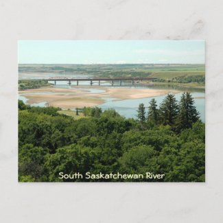 South Saskatchewan River postcard