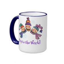 Soy to the World Holiday mug