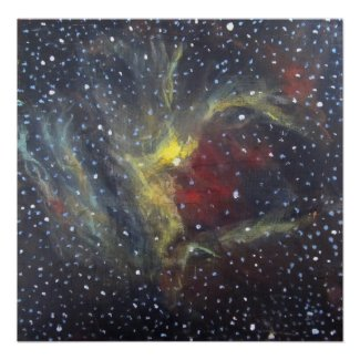 Space Art Poster - Wizard Nebula print