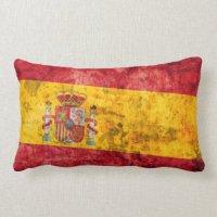 Spanish Flag Pillows - Decorative & Throw Pillows   Zazzle