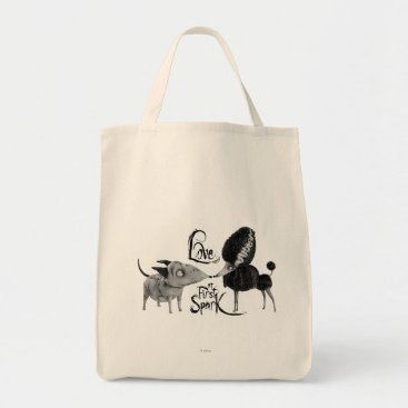 Sparky and Persephone: Love at First Spark Tote Bag