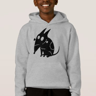 Sparky Sitting Silhouette Hoodie
