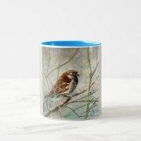 Sparrow Bird Coffee Cup | Zazzle