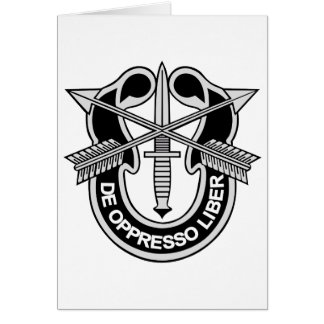 Army Special Forces Crest Gifts on Zazzle
