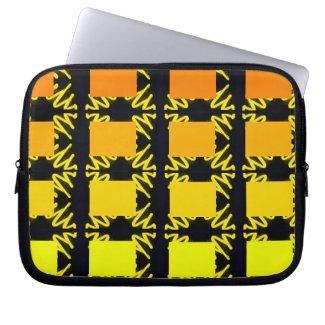 Spectrum Colorful 24 Zipper Soft Laptop iPad Case