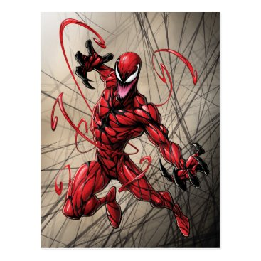 Spider-Man | Carnage Leaping Forward Postcard
