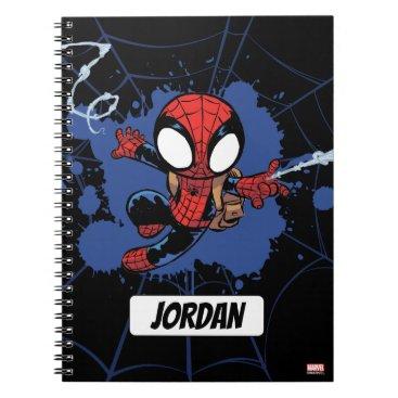 Spider-Man | Chibi Spider-Man Web-Swinging Notebook
