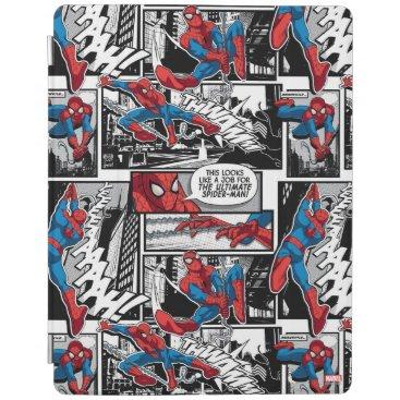 Spider-Man Comic Panel Pattern iPad Smart Cover