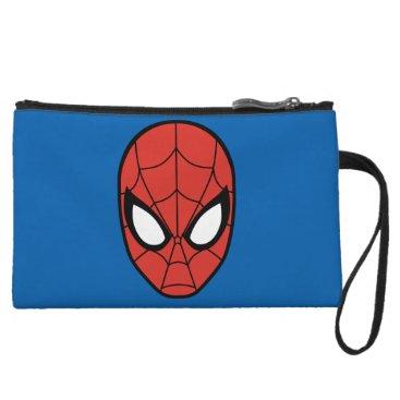 Spider-Man Head Icon Wristlet Wallet