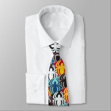 Spider-Man Icon Pattern Neck Tie