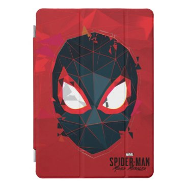 Spider-Man Miles Morales Shattered Mask Graphic iPad Pro Cover