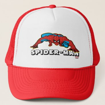 Spider-Man Retro Crouch Trucker Hat