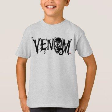 Spider-Man | Venom Name Logo T-Shirt