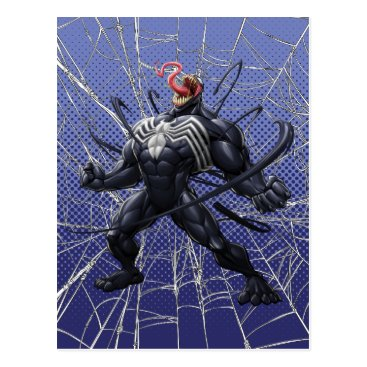 Spider-Man | Venom Symbiote Lashing Out Postcard