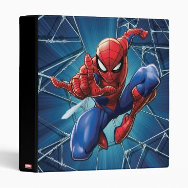 Spider-Man | Web-Shooting Leap 3 Ring Binder