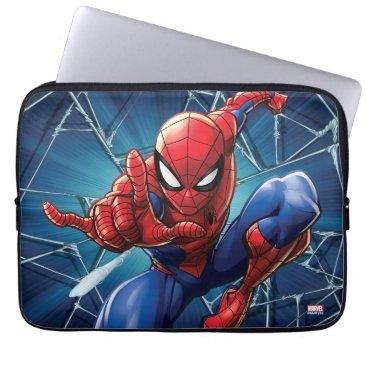Spider-Man   Web-Shooting Leap Laptop Sleeve