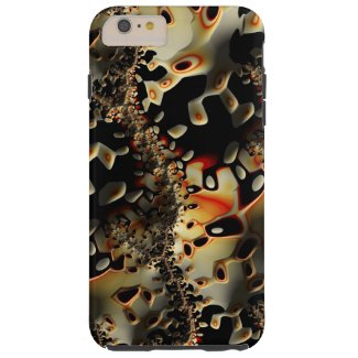 Spotted Lizard Pattern Iphone6 Plus Tough Case