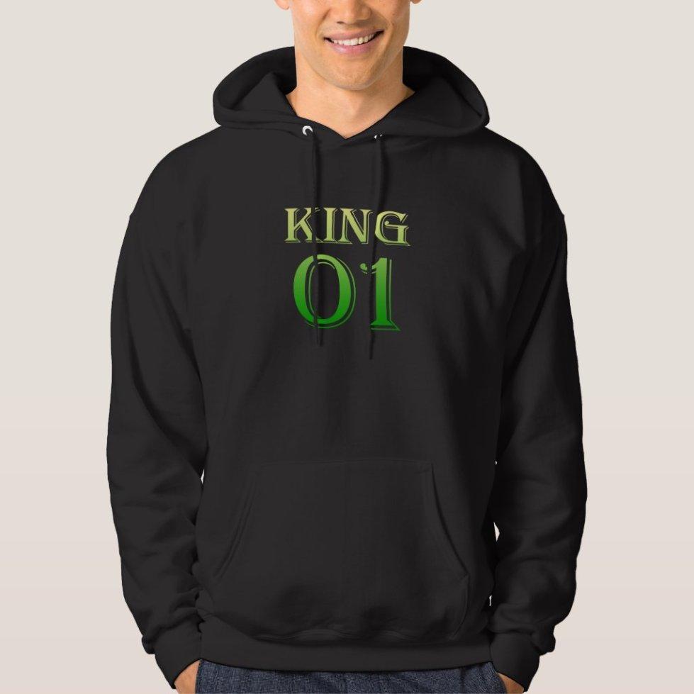 Spring Greens King 01 Hoodie