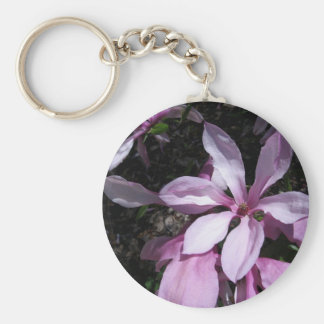 Spring Magnolia Pink Key Chain