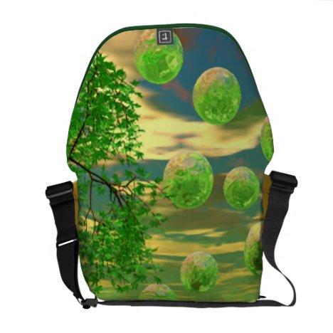 Spring Renewal – Lemon & Lime Life Force Courier Bag