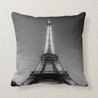 Square cushion Paris - Eiffel Tower #2 Throw Pillow | Zazzle