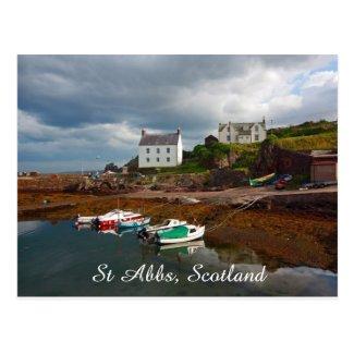 St Abbs, Scotland, postcard