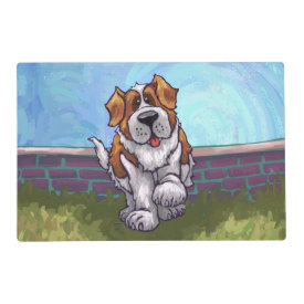 St. Bernard Gifts & Accessories Laminated Place Mat