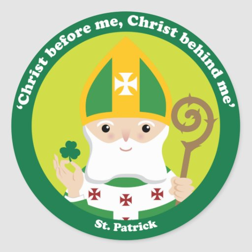St. Patrick quote Sticker