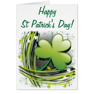 St Patrick's Day Clover Cards