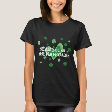 St Patrick's Day t shirt | Shamrocks & Shenanigans