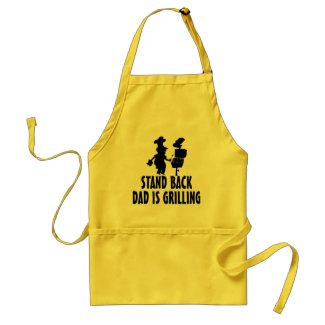 Stand Back Aprons