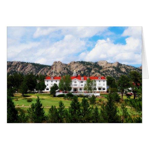 Stanley Hotel, Estes Park, Colorado Card