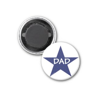 Star Dad Magnet