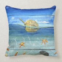 Starfish Tropical Designer Throw Pillow 20