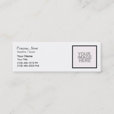 Start from Scratch! Mini Business Card
