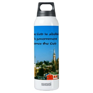 Stay close to God 16 Oz Insulated SIGG Thermos Water Bottle